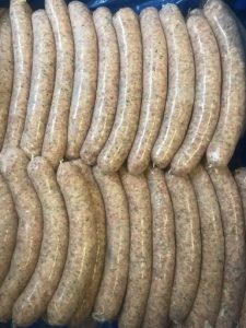 Lincolnshire sausages natural hog casing
